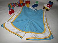 Шорты плавательные Wonder Kids оригинал рост 104 см голубые 07176, фото 1