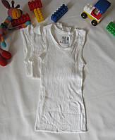 Майка нижняя Fruit of the loom, упаковка 3 штуки, оригинал (уценка) рост 104 см белая 07202