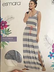 Женское летнее длинное платье в пол Esmara