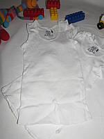 Майка нижняя Fruit of the loom упаковка 3 штуки оригинал рост 92 см белая 07204