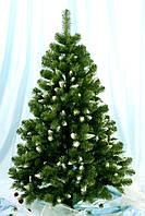 Елка искусственная Снежанна 1,6 м (белые кончики) купить модную елку