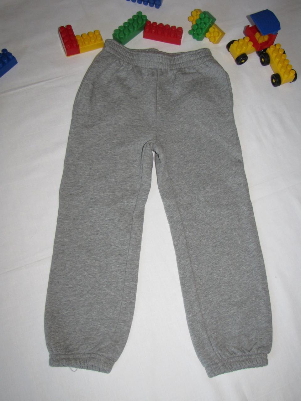 Штаны трикотажные с начесом Joe Boxer оригинал рост 110 см серые 07160