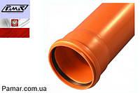 Труба ПВХ 160х1м (3,2мм) наружная PAMAR