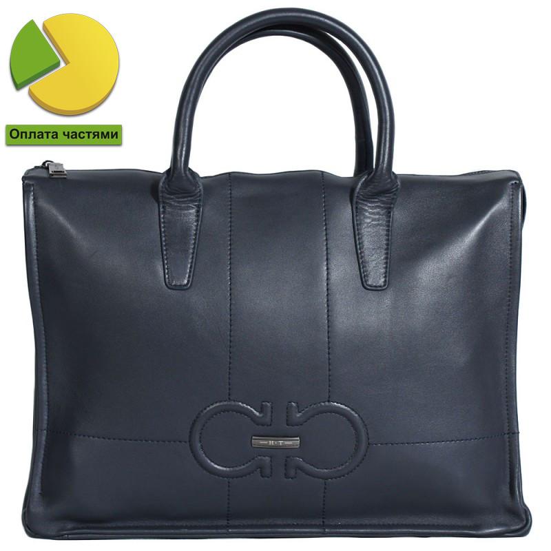 Эксклюзивная мужская кожаная сумка для ноутбука и документов формата А