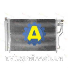 Радиатор кондиционера на Хьюндай Акцент(Hyundai Accent) 2006-2010