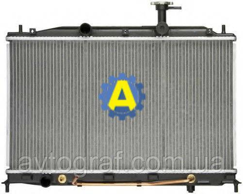 Радиатор охлаждения двигателя(основной) на Хьюндай Акцент( Hyundai Accent) 2006-2010
