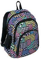 Разноцветный городской рюкзак на три отделения PASO 23L, 15-1829C