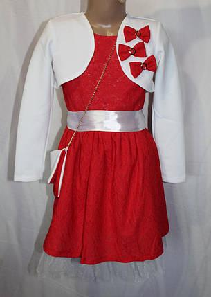 Дитяче плаття бантик, фото 2