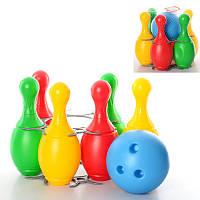 Детский набор для игры в боулинг 2 ТехноК 2919,29×29×28 см
