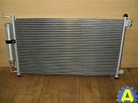 Радиатор кондиционера на Ниссан Тиида ( Nissan Tiida ) Европеец 2005-2012