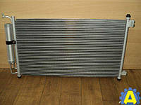 Радиатор кондиционера на Ниссан Тиида ( Nissan Tiida ) 2005-2012