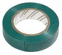 Изолента 0,13х15 мм зеленая 10 метров ИЭК