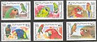 Попугаи - птицы Сомали - 1999 год