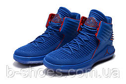 Мужские баскетбольные кроссовки Air Jordan 32 (dark blue)