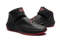 Мужские баскетбольные кроссовки JORDAN WHY NOT ZERO.1 (Black/Red), фото 1
