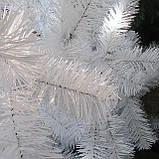 Елка искусственная классическая белая 1.6 м купить белую елку в дом, фото 2