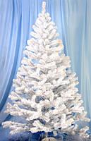 Елка искусственная классическая белая 1.6 м купить белую елку в дом, фото 1