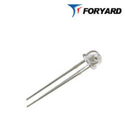 Світлодіод холодно-білий 4,8 мм. FYL-4813 UWC / S 5000К (капелюх, прозорий), 120 ° FORYARD