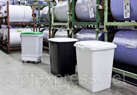 Контейнер для мусора DURABIN 90 л с крышкой DURABLE