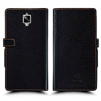 Чехол книжка Stenk Wallet для OnePlus 3 Чёрный (51389)