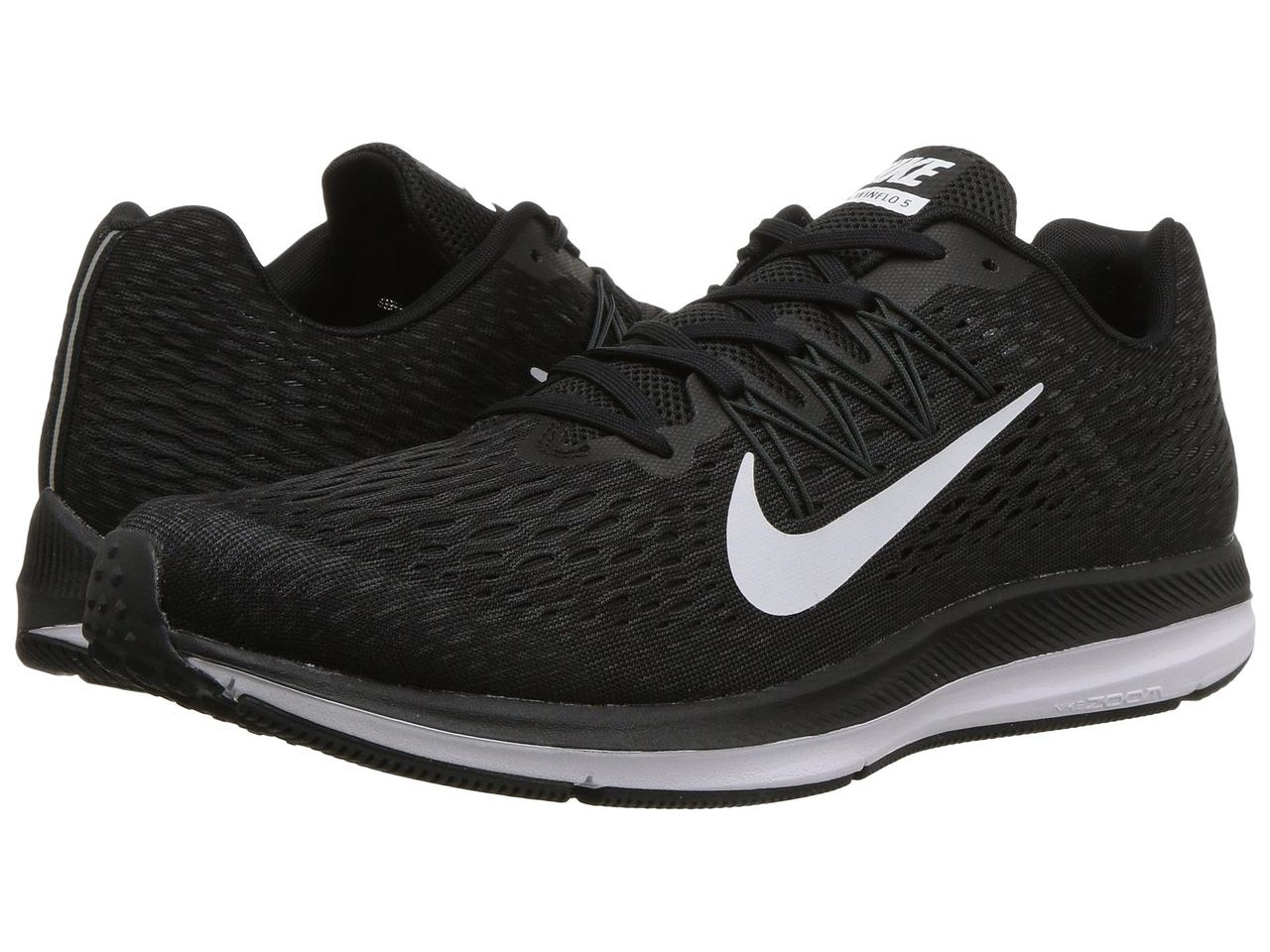 9e83b538 Кроссовки/Кеды (Оригинал) Nike Air Zoom Winflo 5 Black/White/Anthracite