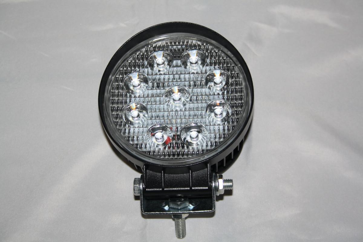 Ліхтар додатковий,круглий,діодний в металевому корпусі