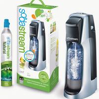 Сифон для приготовления газированных напитков Stream (титан/серебро) (с 1 пластиковой бутылкой)