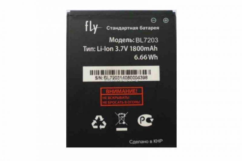 Акумуляторна батарея BL7203  для мобільного телефону Fly IQ4405, IQ4413