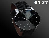 Женские часы/годинник черного цвета (177)