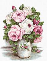"""Набор для вышивания крестом """"Luca-s"""" BA2329 Смешанные розы"""