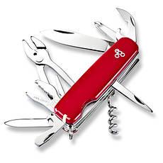Нож Ego A01.11, красный, фото 3