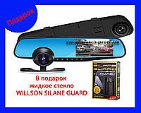 Зеркало Видеорегистратор BLACKBOX FullHD с камерой заднего вида , фото 1