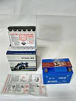 АКБ 12V4A заливной кислотный + электролит Honda Dio/ Suzuki Sepia/ Address/50сс4т/ Delta50