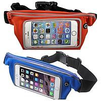 Спортивная сумка-чехол на пояс,сумка на пояс для бега,сумка поясная,для смартфона от 4'' до 5.8'' дюймов