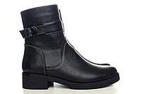 Чёрные зимние ботинки на меху от производителя пло супер цене