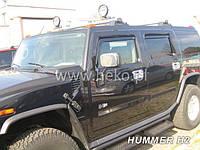 Дефлекторы окон (ветровики)  HUMMER H2 - 5D (HEKO) 4шт