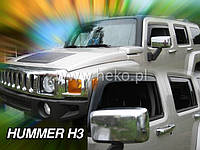 Дефлекторы окон (ветровики)  HUMMER H3 - 5D (HEKO) 4шт