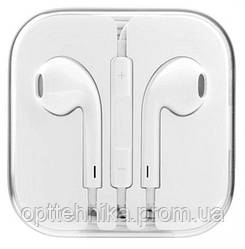 Наушники-гарнитура в стиле IPhone (Белые) Apple