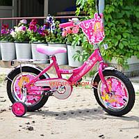 Детский двухколесный велосипед 12 дюймов Принцесса Азимут
