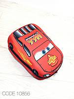 Детский рюкзак машина. 3D рюкзак. Рельефный рюкзак. Рюкзак для мальчиков. МакВин, Бэтмэн, Человек паук.