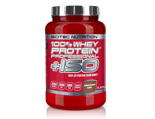100% Whey Protein Professional ISO 870 g