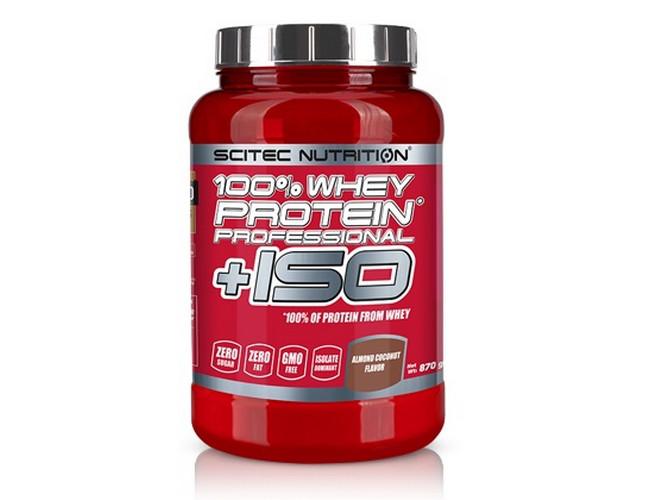 Протеин Scitec Nutrition 100% Whey Protein Professional ISO 870 г