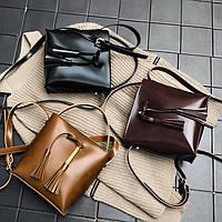 Не большая сумка мешок на длинном ремешке