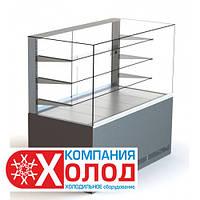 Витрина холодильная кондитерская ВХК КУБ 1.2 Д