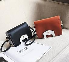 Оригинальная сумка сундучок на ремешке, фото 2