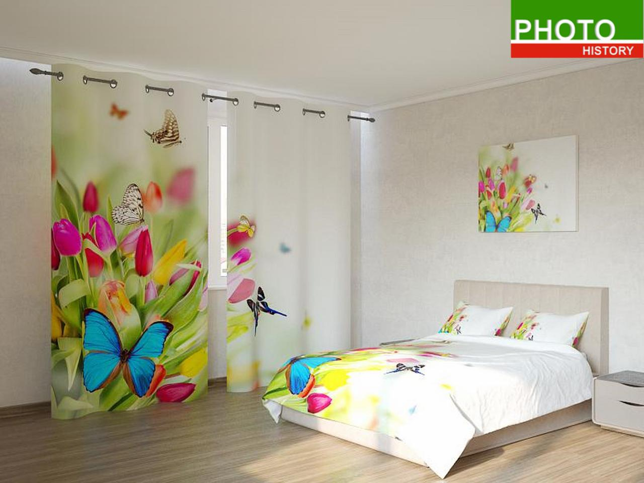 Фотокомплекты  разноцветные цветы