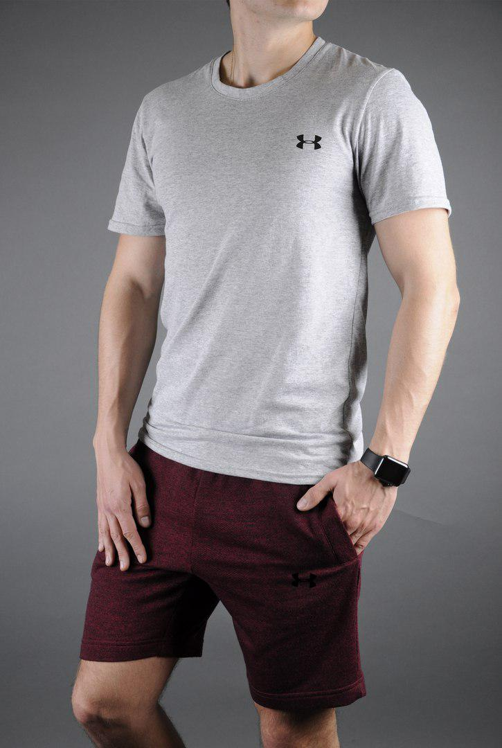 265b3e8c95ed Мужской комплект under armour ,светлый комплект,футболка+шорты - Интернет- магазин 4champ
