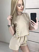 Костюм женский с шортами  Nikа 44-46, фото 1