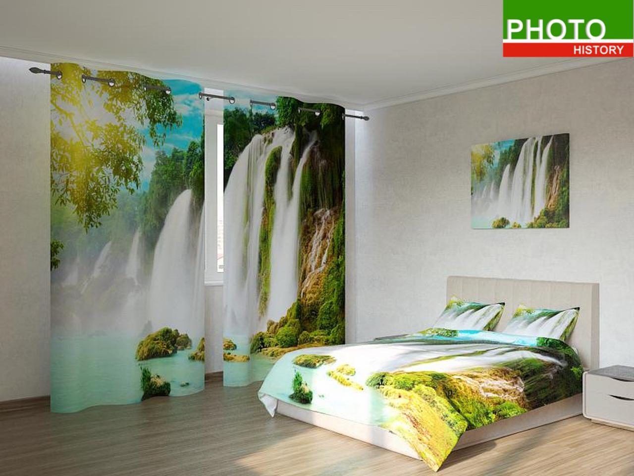 Фотокомплекты  лазурный  водопад