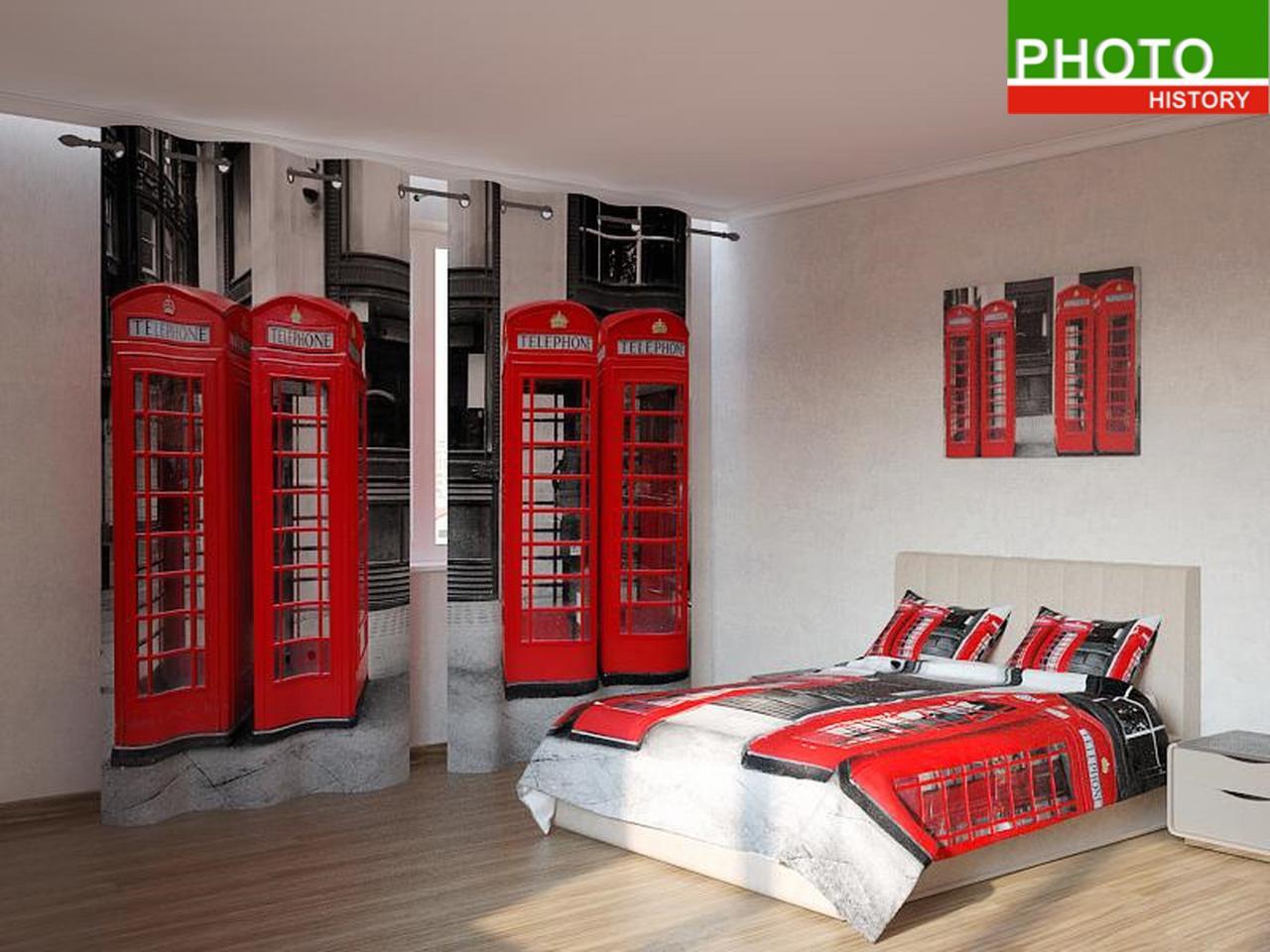 Фотокомплекты  телефонные будки в лондоне